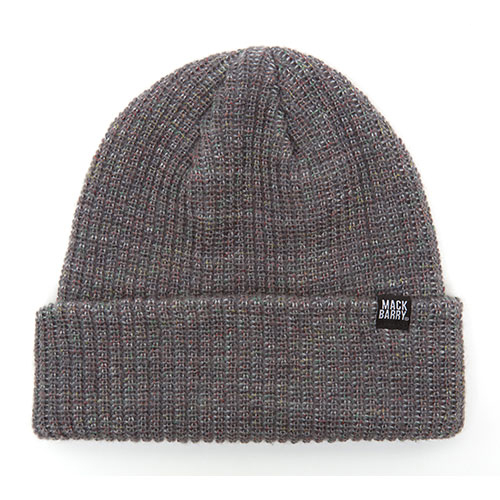 MACK BARRY맥베리_MACK BARRY HEIST BEANIE_GRAY