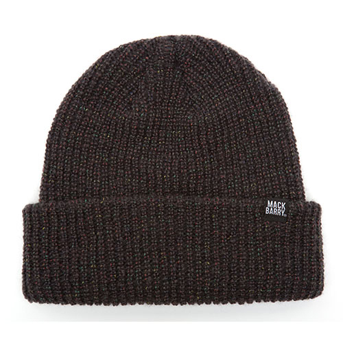 MACK BARRY맥베리_ MACK BARRY HEIST BEANIE_CHARCOAL