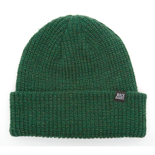 MACK BARRY맥베리_MACK BARRY HEIST BEANIE_GREEN