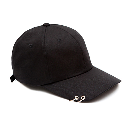 MACK BARRY맥베리_MACK CURVE RING CAP (B) BLACK