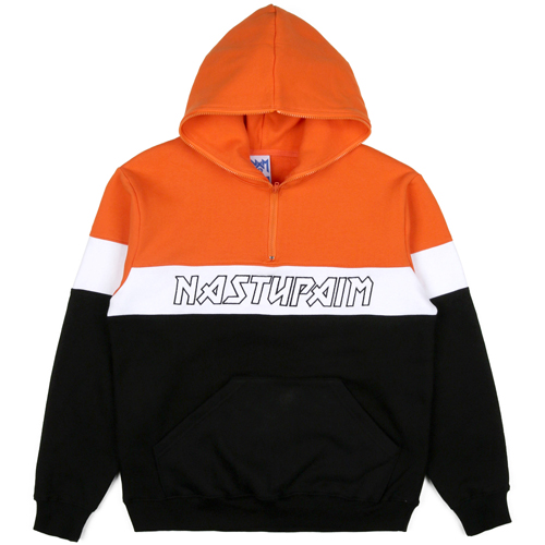 NASTY PALM네스티팜_[NYPM] SEEK FAULT HOODIE (ORANGE)