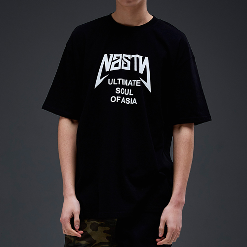 NASTY PALM네스티팜_[NYPM] ULTIMATE TEE (BLK-WHT)