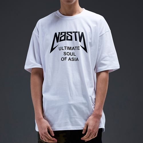 NASTY PALM네스티팜_[NYPM] ULTIMATE TEE (WHT-BLK)