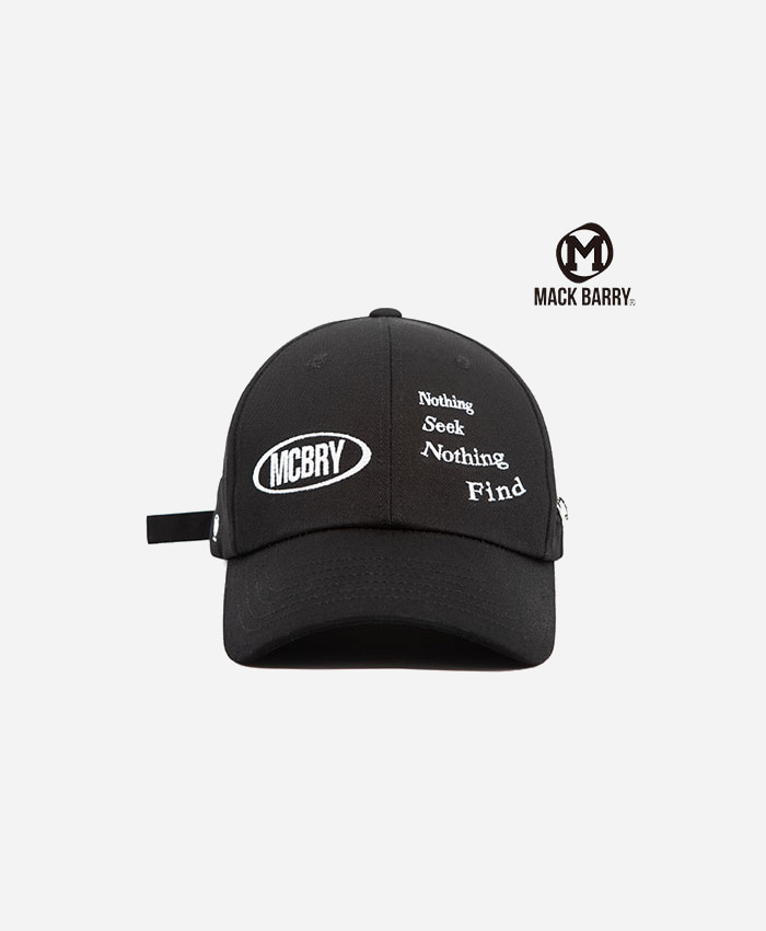 MACK BARRY맥베리_N.S.N.F CURVE CAP