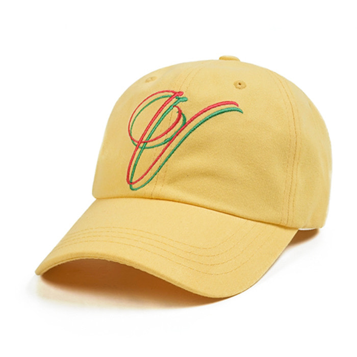 스티그마V BASEBALL CAP LIGHT YELLOW