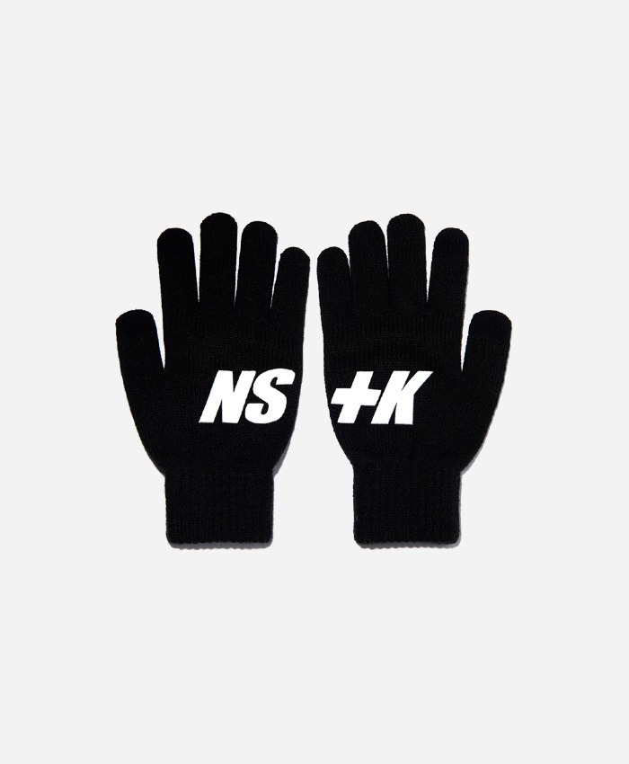 NASTY KICK네스티킥_[NK] NSTK BASIC LOGO GLOVES BLACK (NK18A102H)