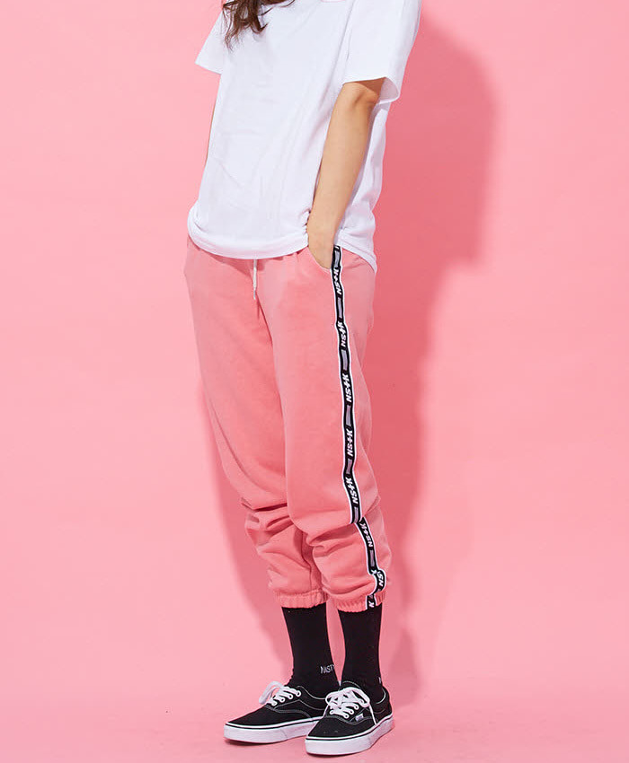 NASTY KICK[당일출고] 네스티킥_[NK] NF LINE SWEAT PANTS PINK